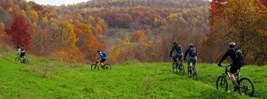 Biking Trail in PA