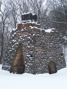 Stone Furnace along the Ghost Town Trail